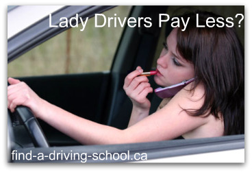Do Lady Drivers Pay Less on Auto Insurance?