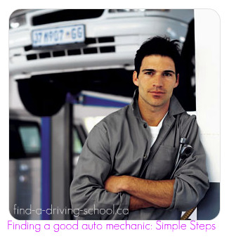 How to find an auto mechanic