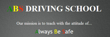 ABS Driving School logo