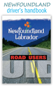 Newfoundland and Labrador Drivers Handbook Online